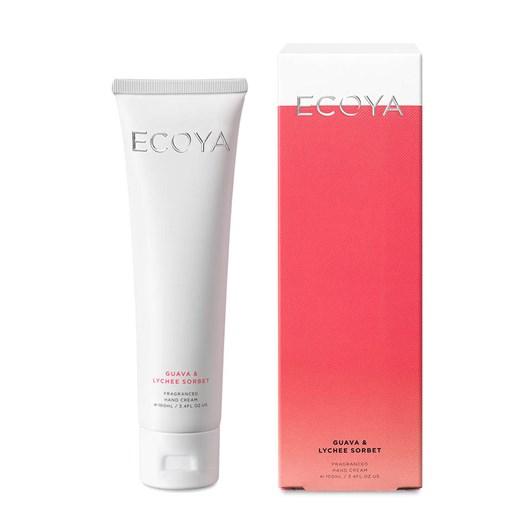 Ecoya New Hand Cream 100ml - Guava & Lychee