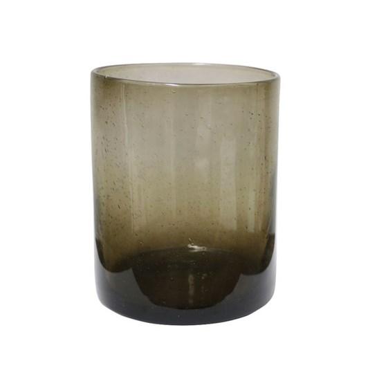 CC Interiors Smoked Glass Vessel