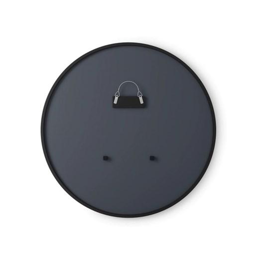Hub Wall Mirror Black 94cm