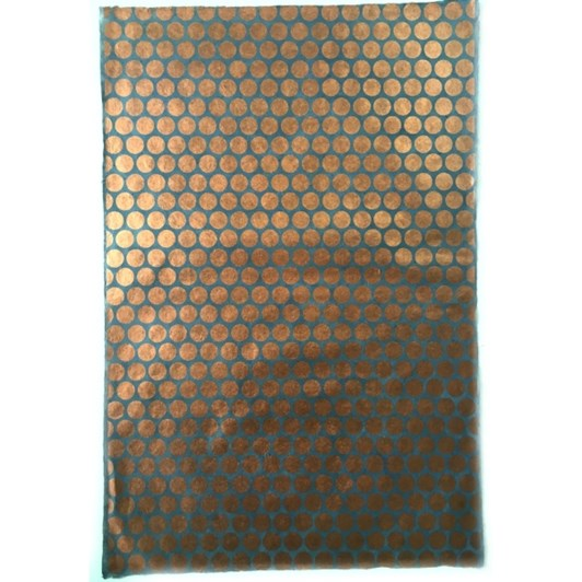Vevoke Wrap-Copper On Slate Polka Dot