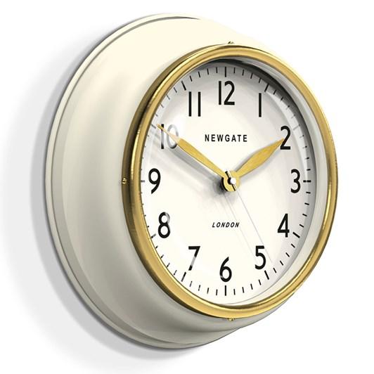 Newgate Cookhouse Ii Clock - Matte Linen White