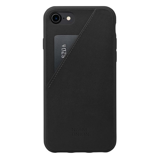 Native Union Clic Card Case for iPhone 7 (Black/Black)