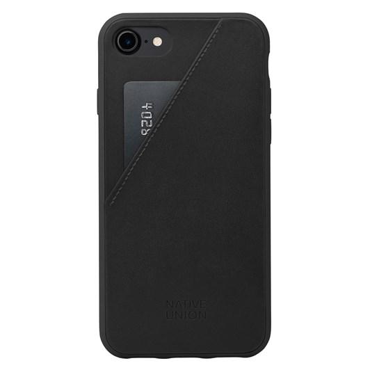 Native Union Clic Card Case for iPhone 7 Plus (Black/Black)
