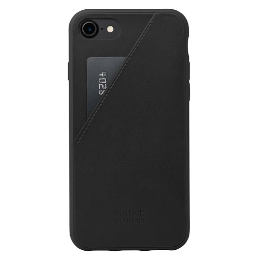Native Union Clic Card Case for iPhone 7 Plus (Black/Black)