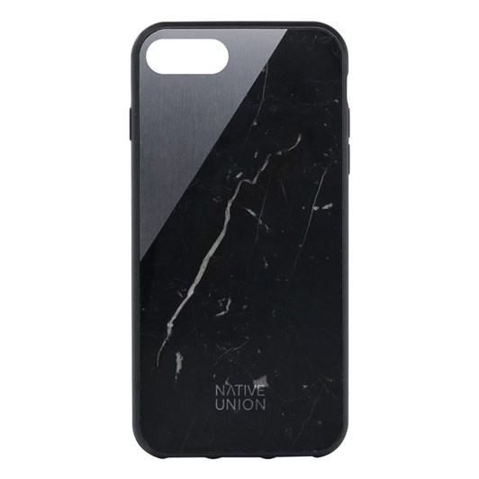 Native Union Clic Marble Metal Case for iPhone 7 (Black/Grey)