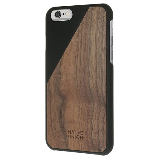 Native Union Clic Wooden Case for iPhone 7 (Black)