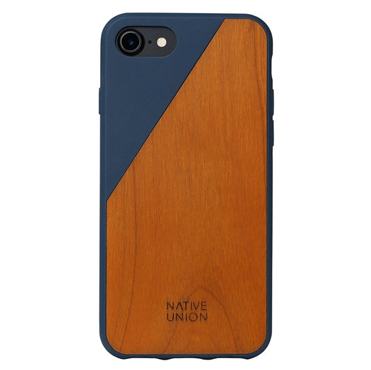 Native Union Clic Wooden Case for iPhone 7 (Marine)