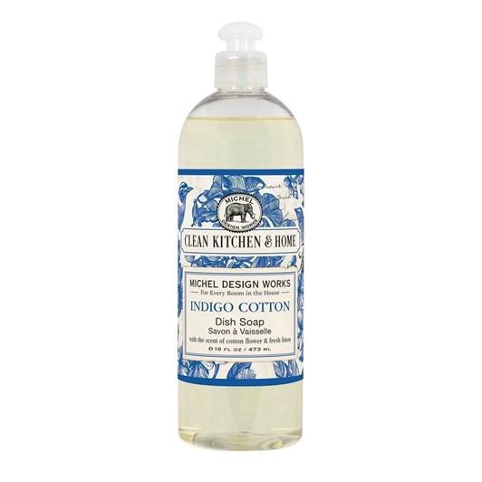 MDW Indigo Cotton Dish Soap