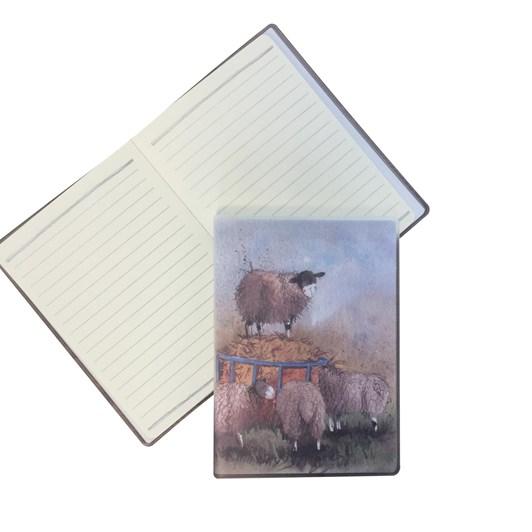 Alex Clark Sheep PVC Jacket Notebook