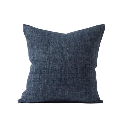 Citta Heavy Linen Cushion Cover Indigo 55X55Cm