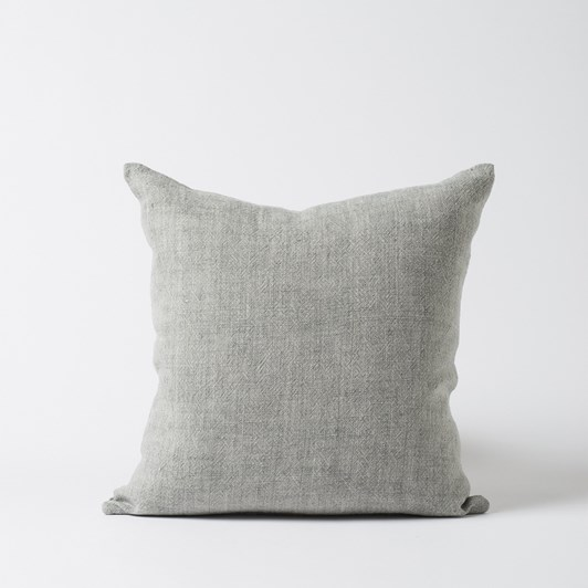 Citta Heavy Linen Cushion Cover Grey  55X55Cm