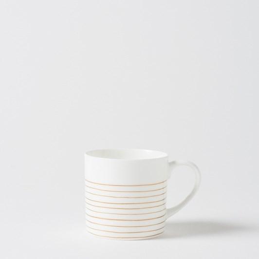 Citta Bande Coffee Cup Gold  8Cmdiax8Cmh