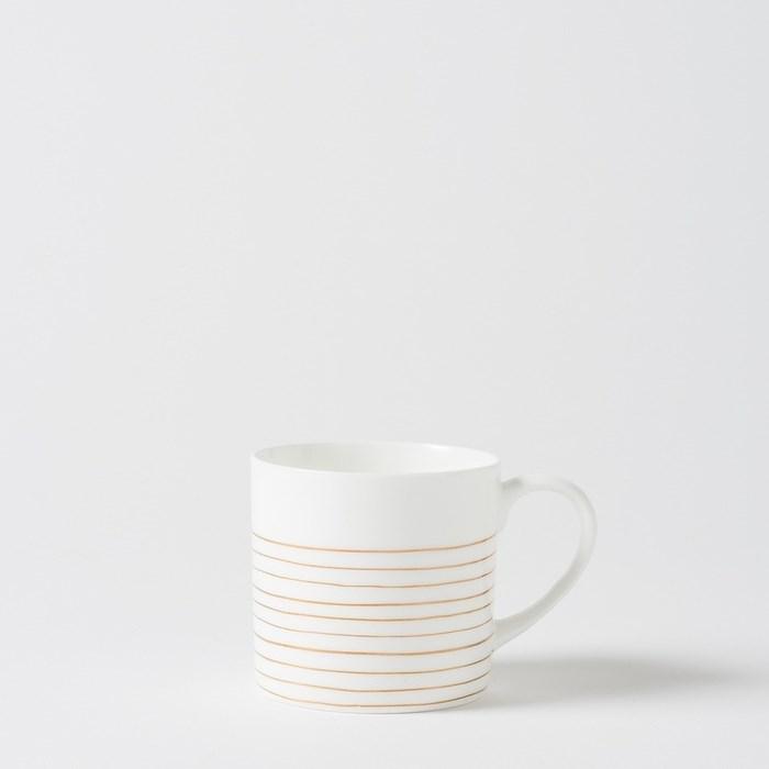 Citta Bande Coffee Cup Gold  8Cmdiax8Cmh -