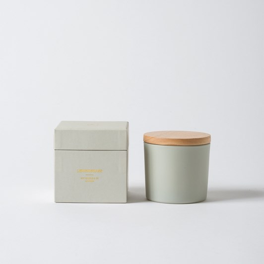 Citta Lemongrass Soy Candle W/Lid Frost 9Ozs 9Cmdiax8Cmh