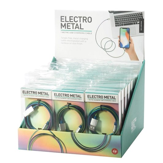 Independence Studios Electro Metal Charging Cable 1 Metre