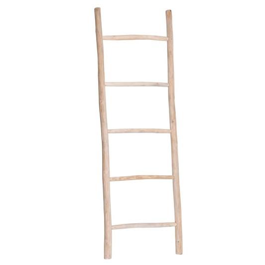 Greta Wide Teak Ladder 70x210cm