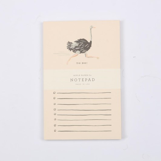 Rifle And Co Ostrich Notepad