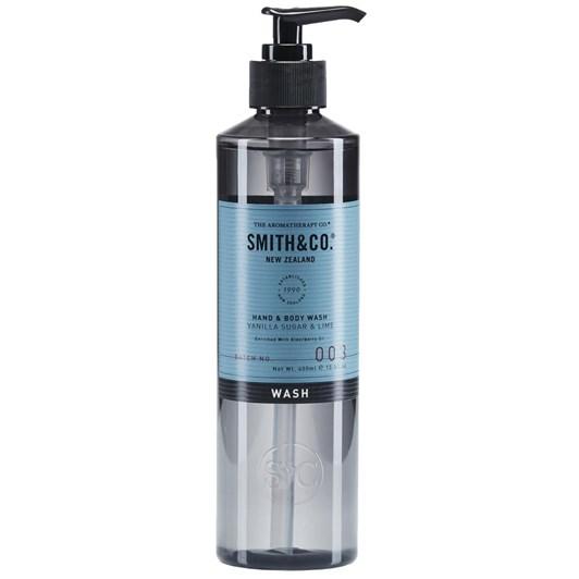 Smith & Co Hand  & Body Wash 400Ml Vanilla Sugar & Lime