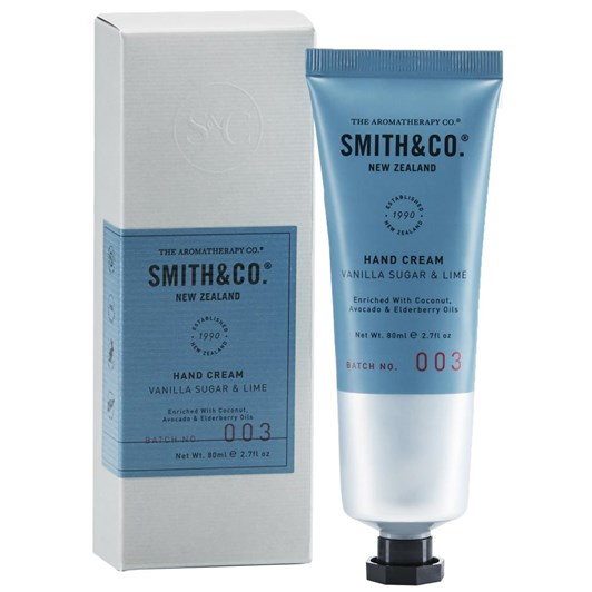 Smith & Co Hand Cream 80Ml  Vanilla Sugar & Lime