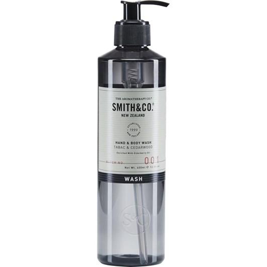 Smith & Co Hand & Body Wash 400Ml Tabac & Cedarwood