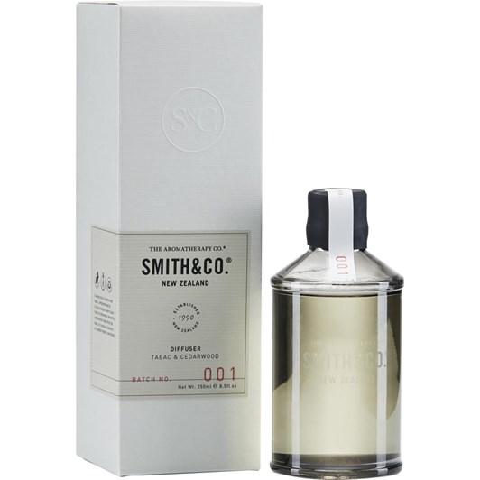 Smith & Co Diffuser 250Ml Tabac & Cedarwood
