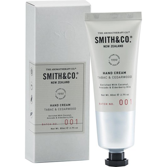 Smith & Co Hand Cream 80Ml Tabac & Cedarwood