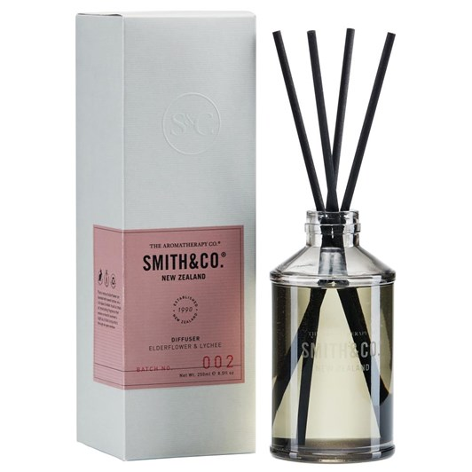 Smith & Co Diffuser 250Ml Elderflower & Lychee