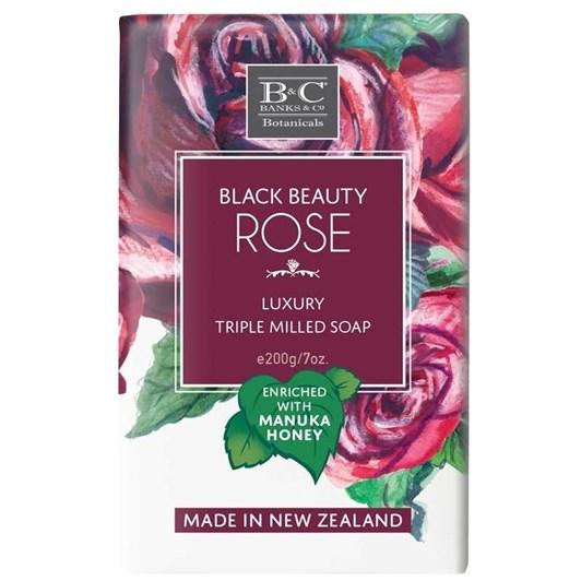 Banks & Co Black Beauty Rose Luxury Soap 200G