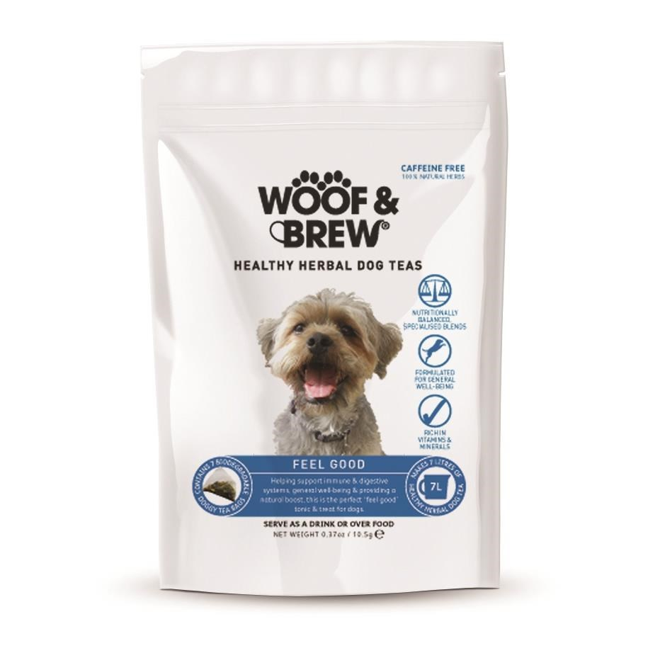 Woof & Brew Feel Good Tea -