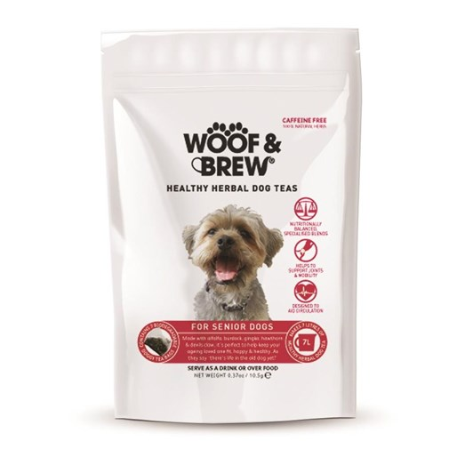 Woof & Brew Senior Tea