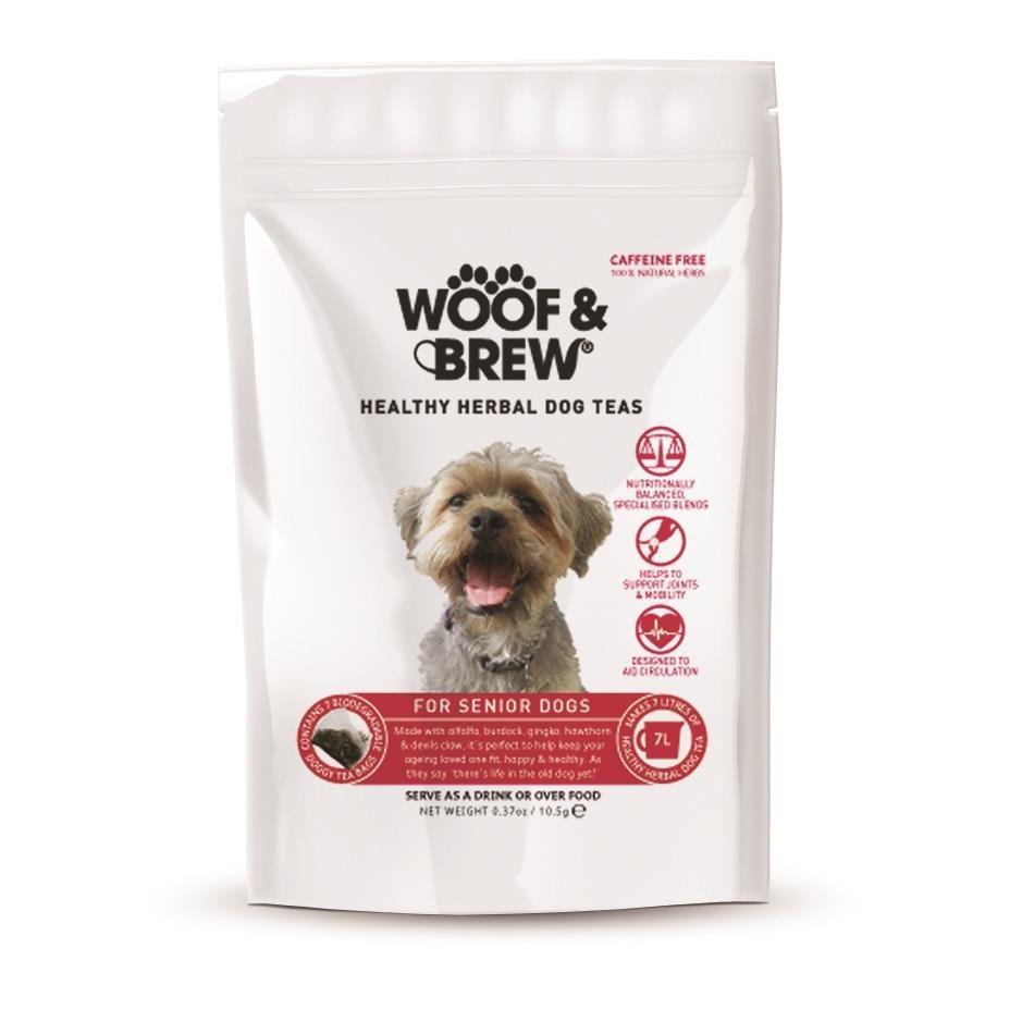 Woof & Brew Senior Tea -