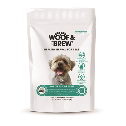 Woof & Brew Fresh Breath Tea