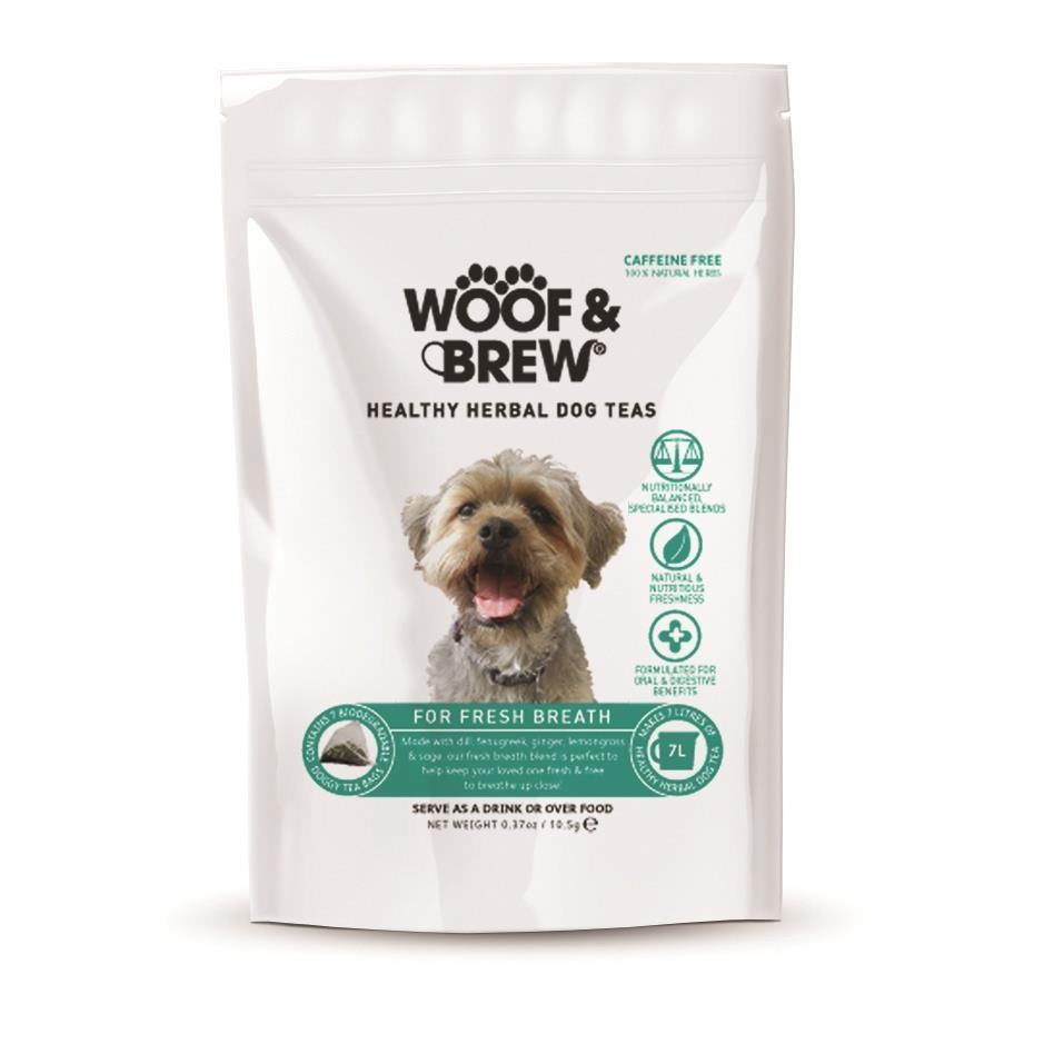 Woof & Brew Fresh Breath Tea -