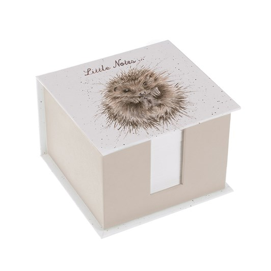 Wrendale Country Set Memoblock Hedgehog