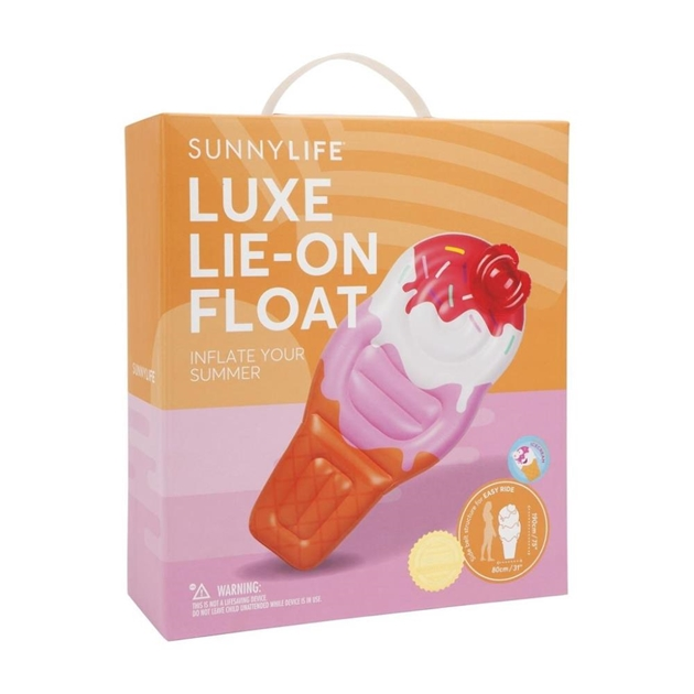 Sunnylife Luxe Lie-On Float Soft Serve -
