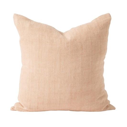 Citta Heavy Linen Cushion Cover Blush 55x55cm