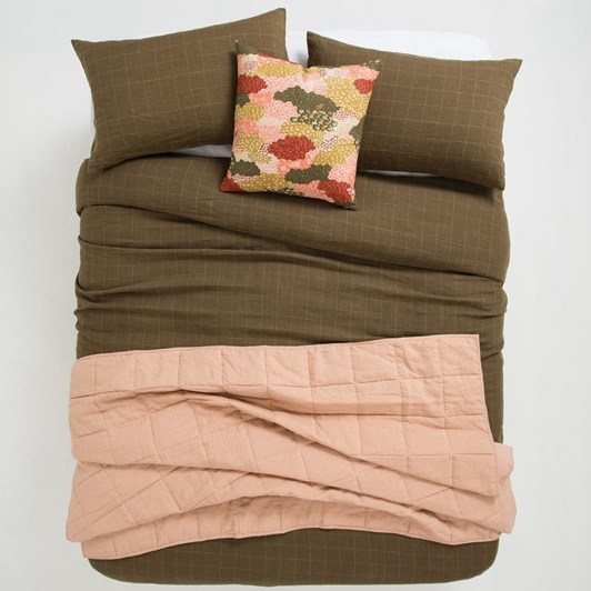 Citta Linen Blanket Small Ice Tea