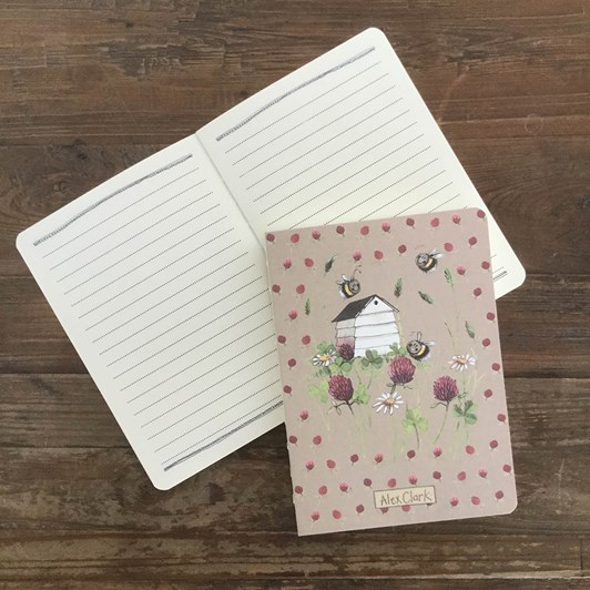 Alex Clark Bee House Naked Spine Notebook