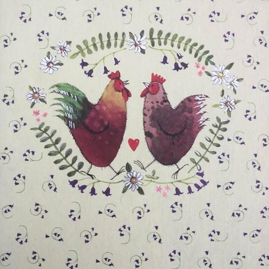 Alex Clark Chickens Naked Spine Notebook
