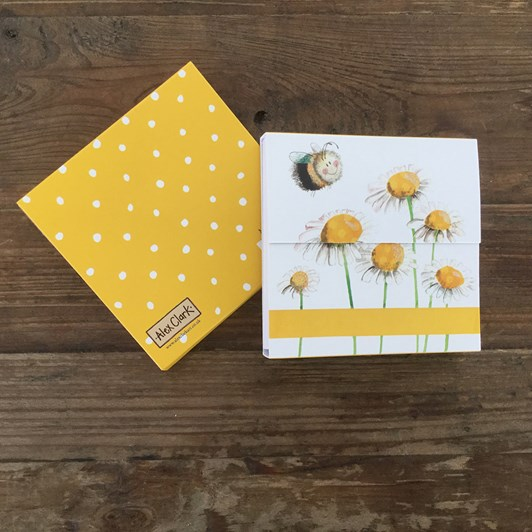 Alex Clark Bees Mini Magnetic Notepad