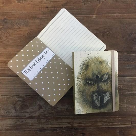 Alex Clark Prickles Small Chunky Notebook