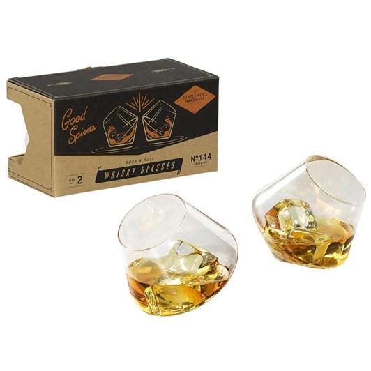 Gentleman's Hardware Rocking Whisky Glasses X2