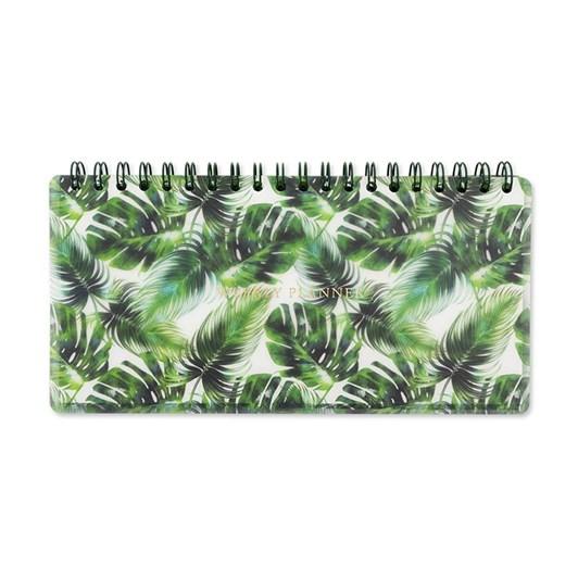 Image Gallery Tropical Leaf Weekly Planner