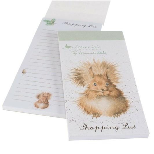 Wrendale Mag Shop Pad Squirrel