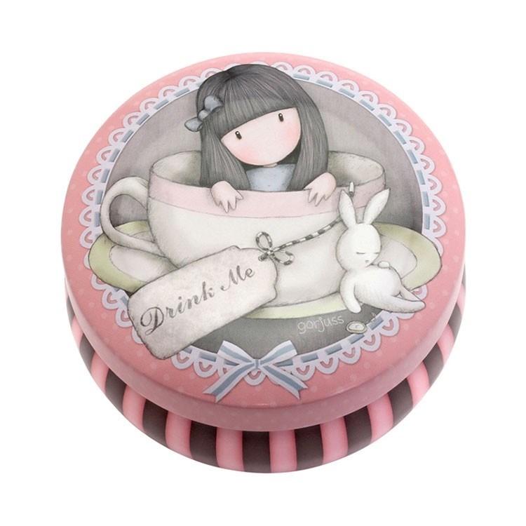Gorjuss Trinket Tin Sweet Tea - na