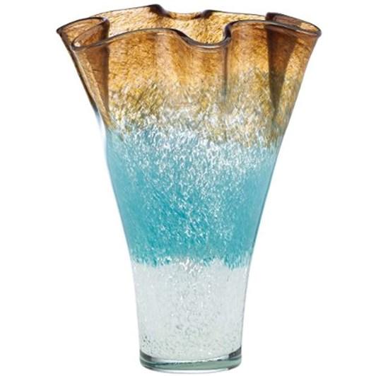 Lenox Seaview Ombre Ruff Vase 30cm