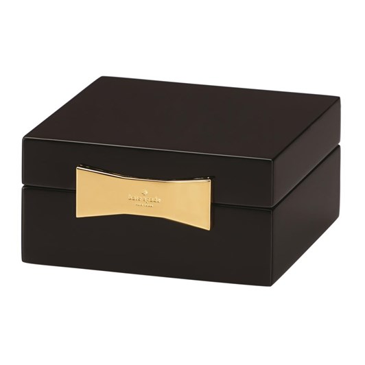 kate spade new york Garden Drive Square Jewellery Box 10cm Black