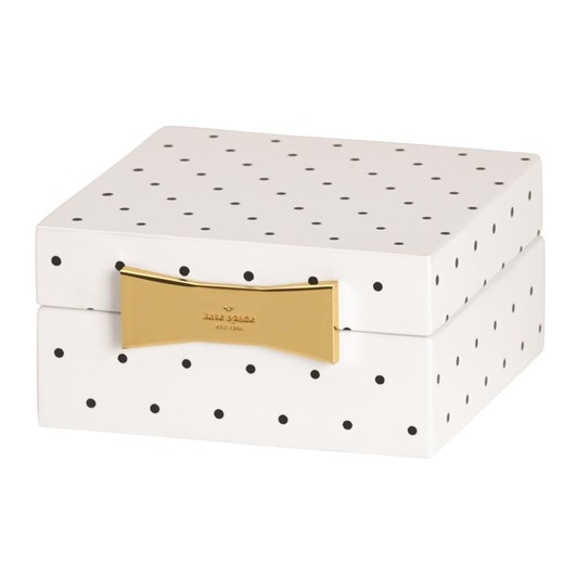 kate spade new york Garden Drive Square Jewellery Box 10cm Spot