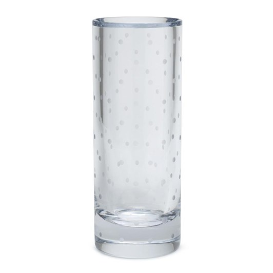 kate spade new york Larabee Dot Cylinder Vase 25cm