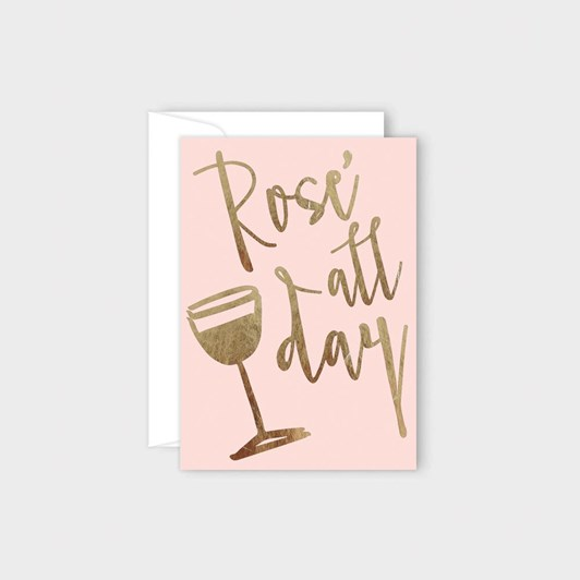 Poppy Card - Rose All Day